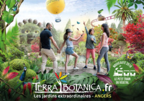 Journée à Terra Botanica Annulée